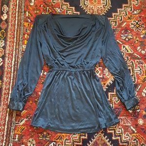 Vintage mini black dress size S
